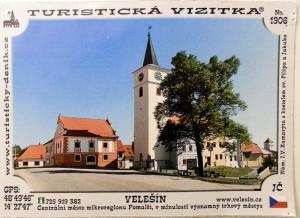 Turistická vizitka č 1906 12,- Kč
